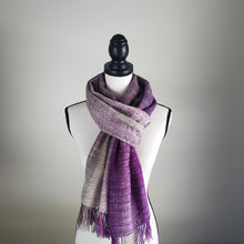 Load image into Gallery viewer, Smoky Mt Half Width | Handwoven Scarf