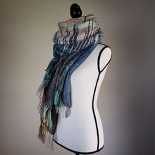 Load image into Gallery viewer, 002 Beachgrass | Handwoven Blanket Scarf and Shawl