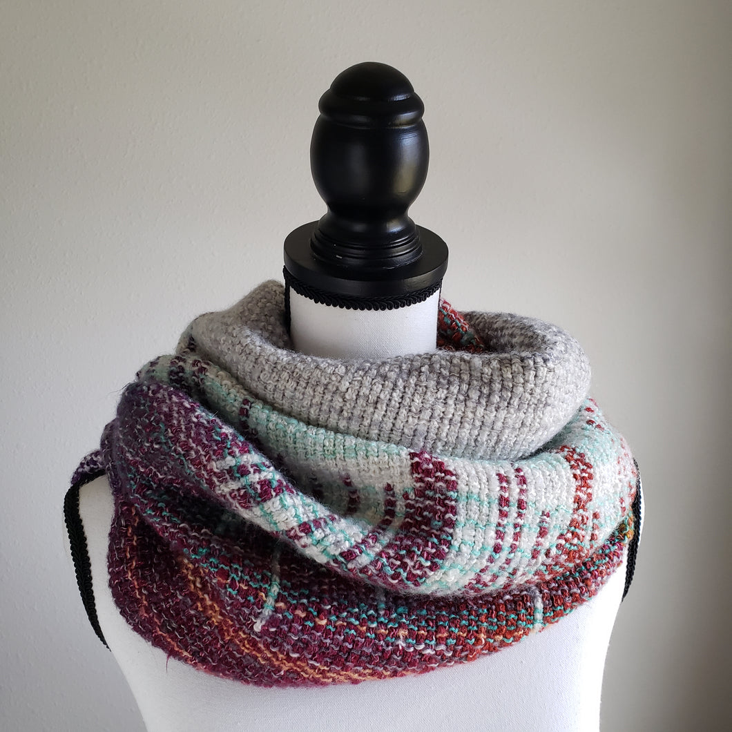 077 Cowl | Grey Green Sunset