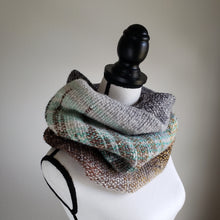 Load image into Gallery viewer, 075 Cowl | Grey Green Earth