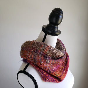 066 Half Cowl | Purple Earth