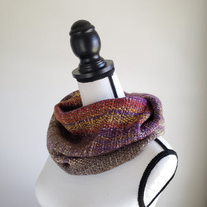 064 Half Cowl | Purple Earth