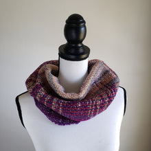 Load image into Gallery viewer, 058 Half Cowl | Purple Gray