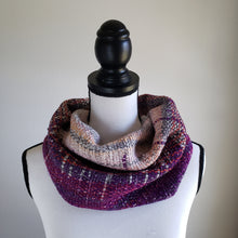 Load image into Gallery viewer, 057 Half Cowl | Purple Gray