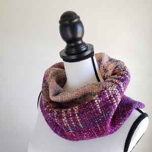 055 Half Cowl | Purple Gray