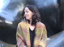 Load image into Gallery viewer, Alpine Tundra | Handwoven Blanket Scarf