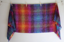 Load image into Gallery viewer, Painted Desert | Handwoven Rainbow Blanket Scarf