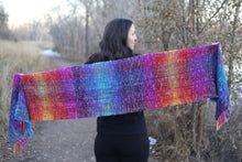 Load image into Gallery viewer, Painted Desert Half Width | Handwoven Scarf