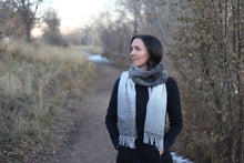 Load image into Gallery viewer, Denali Winter Half Width | Handwoven Scarf
