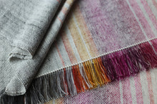 Load image into Gallery viewer, Snowbirds II | Handwoven Blanket Scarf