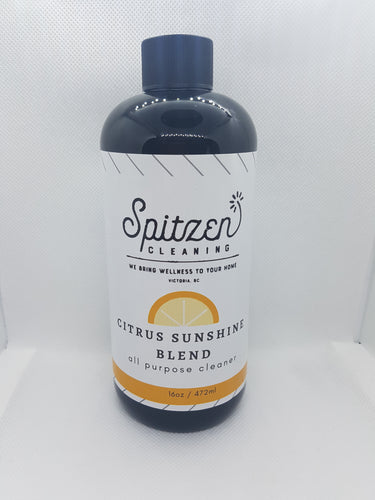 16 x Citrus Sunshine Blend Cleaner 16oz