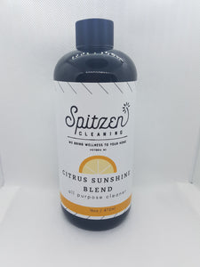 Citrus Sunshine Blend Cleaner 16oz