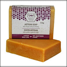 Load image into Gallery viewer, 4-Piece Pure Beeswax Handcrafted Soaps Deluxe Set