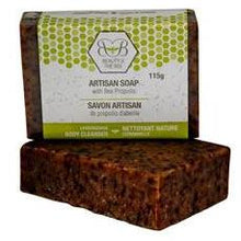 Load image into Gallery viewer, 6 x Beeswax Soap with Propolis and Lemongrass 115g