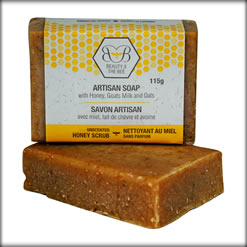 4-Piece Pure Beeswax Handcrafted Soaps Deluxe Set