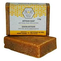 Pure Beeswax Unscentedsoap with Oats 115g
