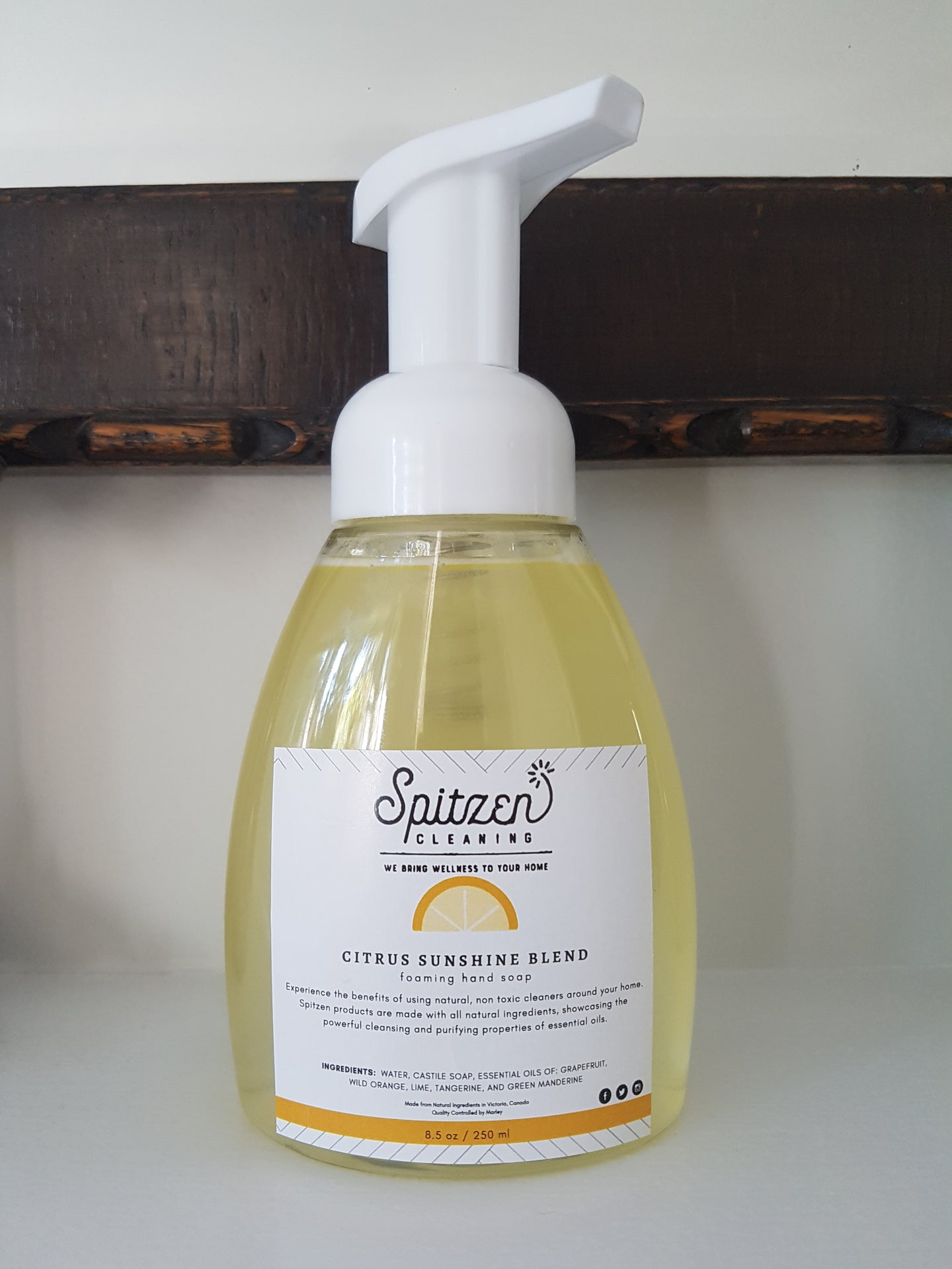 Citrus Sunshine Blend Foaming Hand Soap 8.5 oz