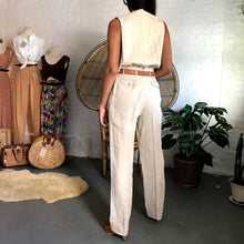 Load image into Gallery viewer, Vintage Calvin Klein Linen Trousers