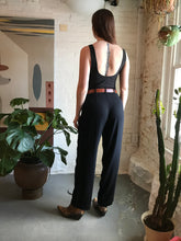 Load image into Gallery viewer, Vintage Sigrid Olsen High Waist Black Trousers