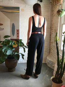 Vintage Sigrid Olsen High Waist Black Trousers