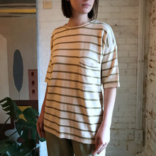 Load image into Gallery viewer, Vintage 1980's Knit Ramie-Cotton Metallic Knit Tee