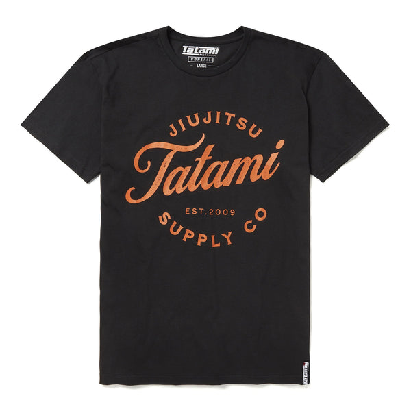 Classic Logo T-Shirt - Black  Tatami Fightwear Ltd. T-Shirt tatamifightwearro.myshopify.com BJJ MALL