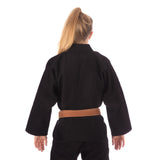 Ladies Classic Gi - Black  Tatami Fightwear Ltd. BJJ GI tatamifightwearro.myshopify.com BJJ MALL