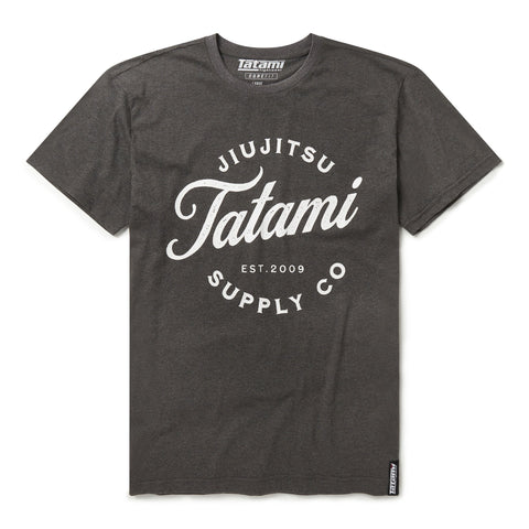 Classic Logo T-Shirt - Grey  Tatami Fightwear Ltd. T-Shirt tatamifightwearro.myshopify.com BJJ MALL