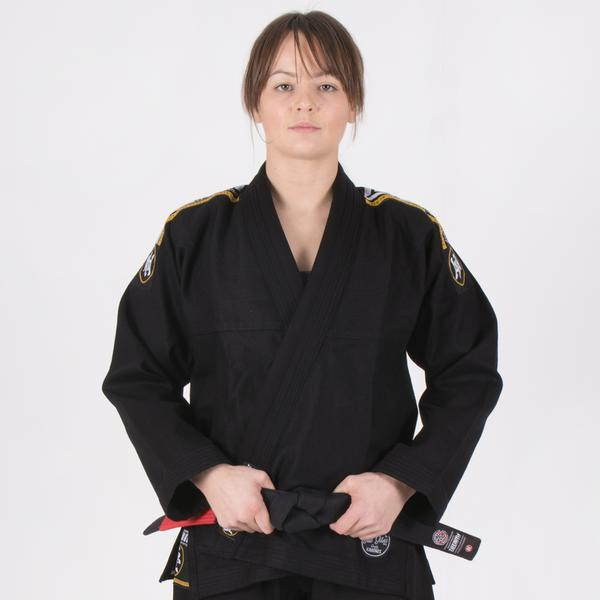 Ladies Nova Absolute Black Gi  Tatami Fightwear Ltd. BJJ GI tatamifightwearro.myshopify.com BJJ MALL