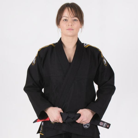 Ladies Nova Absolute Black Gi