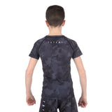Kids Stealth Short Sleeve Rash Guard