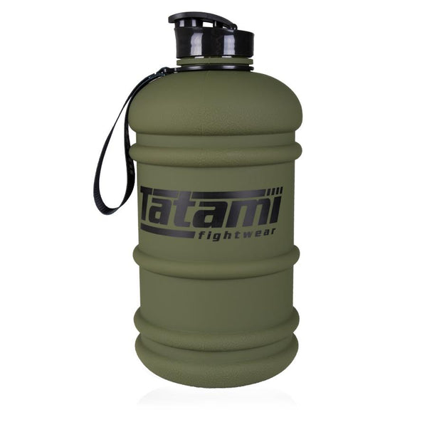 Tatami Water Bottle 2.2L Khaki  Tatami Fightwear Ltd. Accesories tatamifightwearro.myshopify.com BJJ MALL