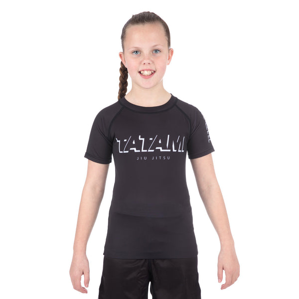 Kids Shadow Short Sleeve Rash Guard