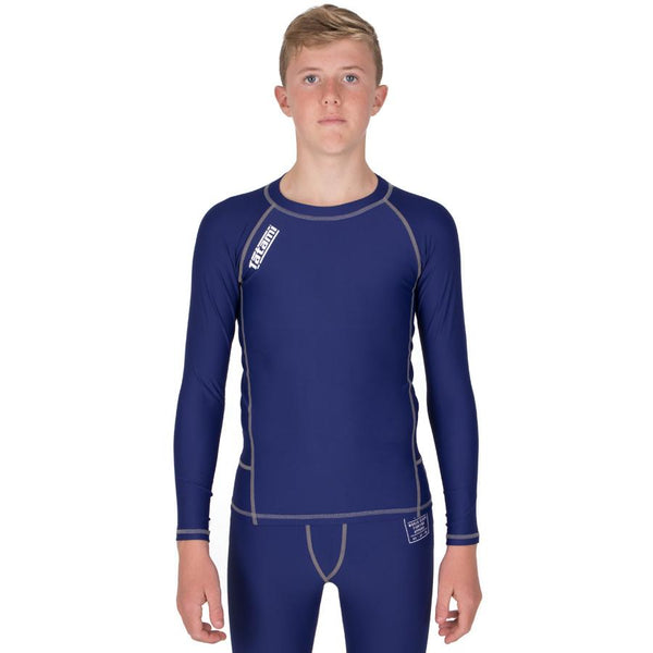Kids Navy Nova Rash Guard
