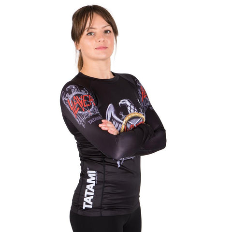 Ladies Slayer Eagle Rash Guard