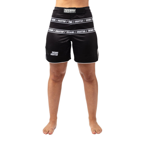 Ladies Vengeance Grappling Shorts - Black