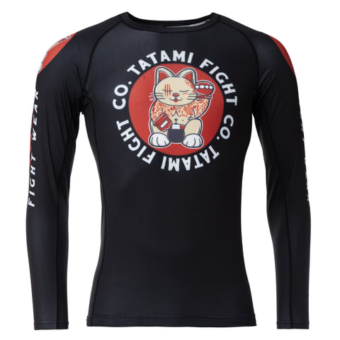 Cat Fighter Eco Tech Recycled Rash Guard