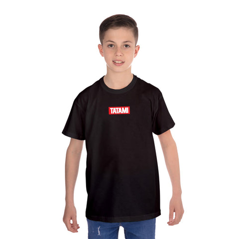 Kids New Addition T-Shirt Black
