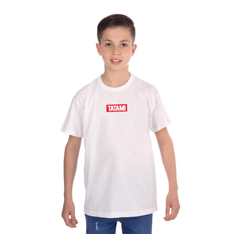 Kids New Addition T-Shirt White