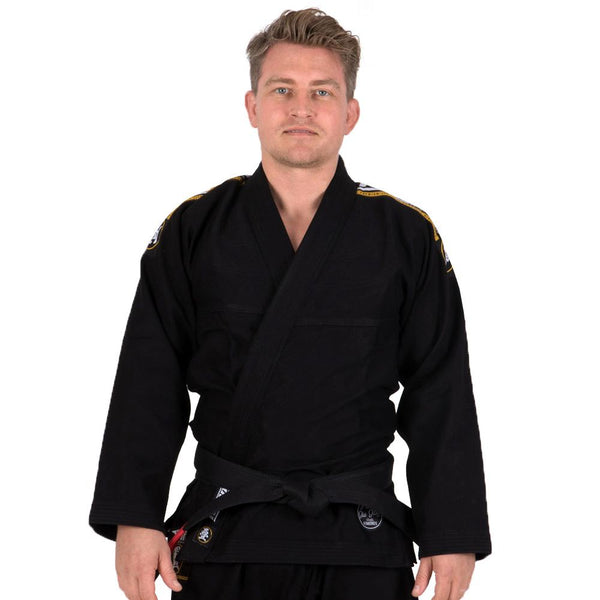 Nova Absolute Black Gi  Tatami Fightwear Ltd. BJJ GI tatamifightwearro.myshopify.com BJJ MALL