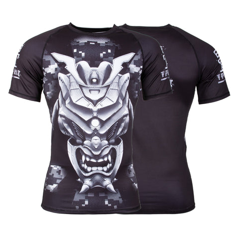 Kabuto Short Sleeve Rash Guard  Tatami Fightwear Ltd. Rash Guard tatamifightwearro.myshopify.com BJJ MALL