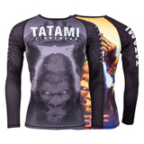King Kong Long Sleeve Rash Guard  Tatami Fightwear Ltd. Rash Guard tatamifightwearro.myshopify.com BJJ MALL