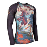 Katana Long Sleeve Rash Guard  Tatami Fightwear Ltd. Rash Guard tatamifightwearro.myshopify.com BJJ MALL