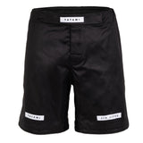 Rival Solid Black Grappling Shorts