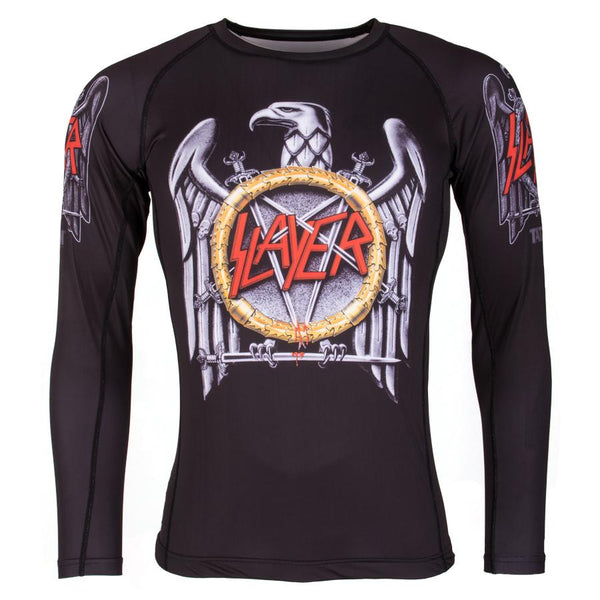 Slayer Eagle Rash Guard  Tatami Fightwear Ltd. Rash Guard tatamifightwearro.myshopify.com BJJ MALL