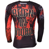 Ladies Slayer Reign In Blood Rash Guard  Tatami Fightwear Ltd. Rash Guard tatamifightwearro.myshopify.com BJJ MALL