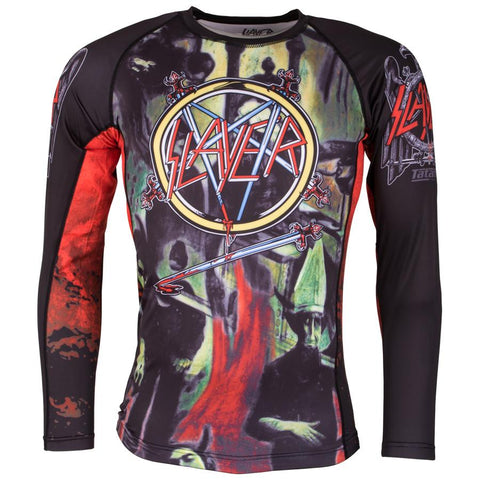 Slayer Reign In Blood Rash Guard