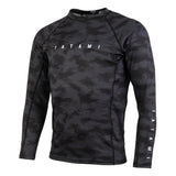 Standard Edition Black Digital Camo LS Rash Guard