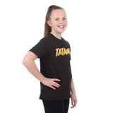 Kids Static T-Shirt Black