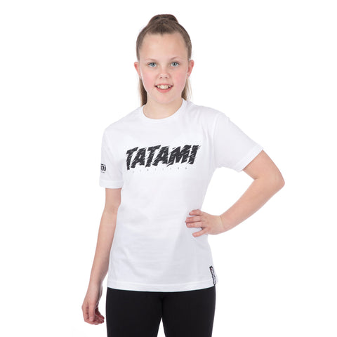 Kids Static T-Shirt White